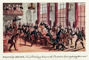 Heath, Political Dinner, 1821