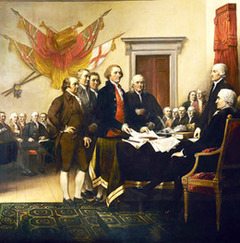 Declaration of Independence 1776 (1819)