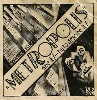 "Filmplakat für ""Metropolis"" (1927, Archives New Zealand, Wikimedia CC, bearb MSchmidt)"