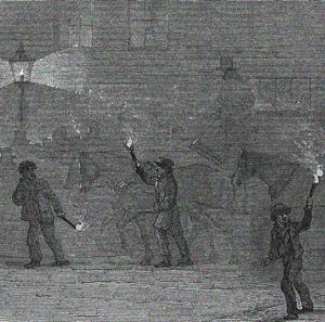 London im Smog 1847 (Wellcome Trust, CC, bearb MSchmidt)