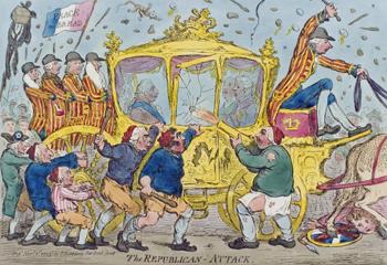 Gillrays Republican Attack 1795