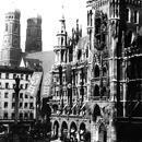 Marienplatz und Rathaus im Dritten Reich (Stadtarchiv)